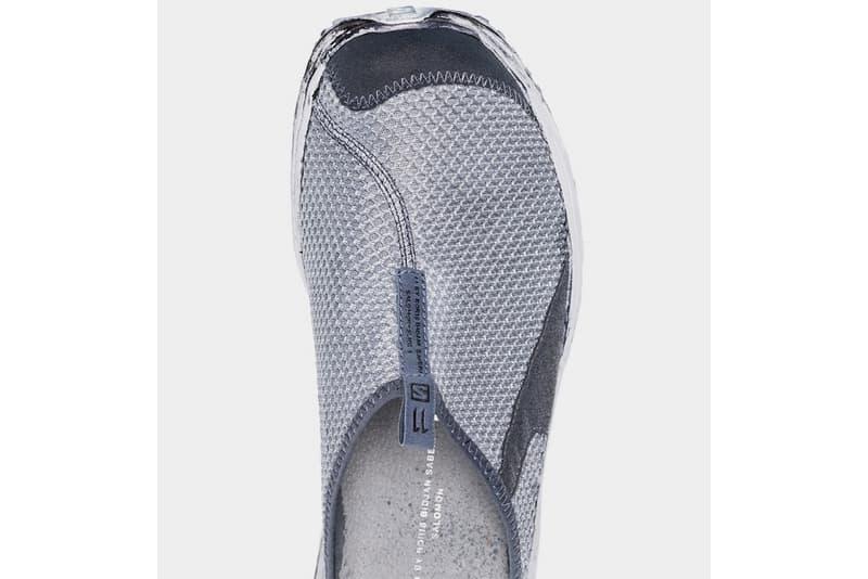 Salomon S Lab x BBS Boris Bidjan Saberi Slip on Sneaker Dusty Blue Mountaineering Trekking Hardwearing All Terrain Mules Release Information Drop Date Browns Menswear Fashion Footwear