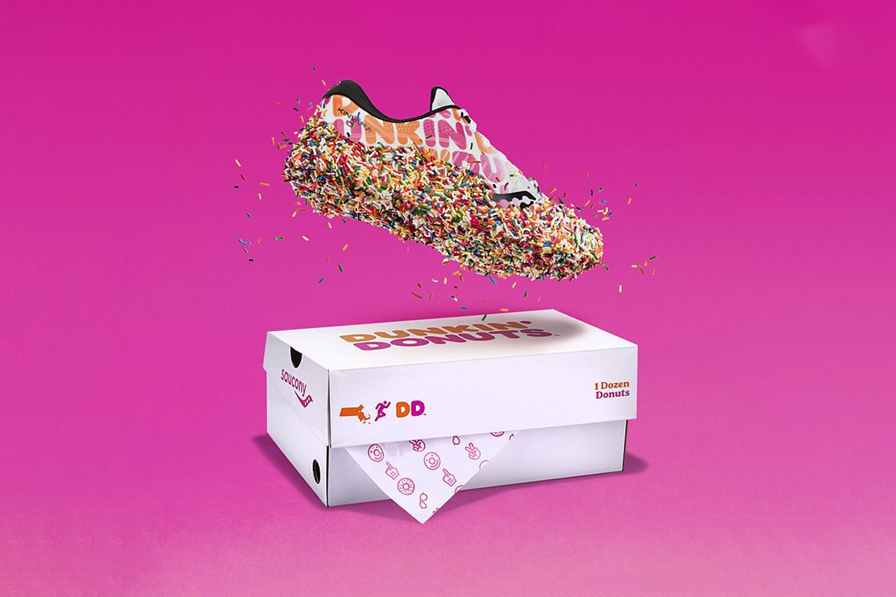 Dunkin' x Saucony Kinvara 10 Sneaker
