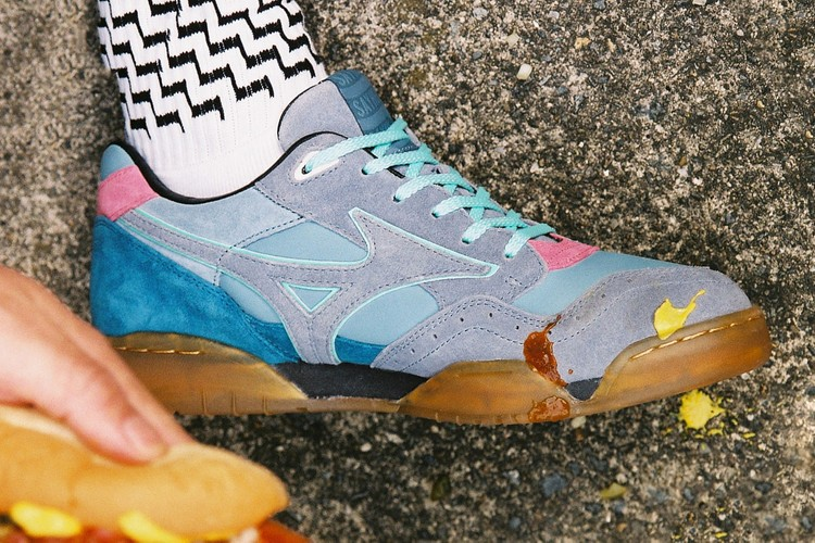 0cc1ce02dc9 SAYHELLO Gives Mizuno s Court Select Spring-Ready Makeovers. Footwear