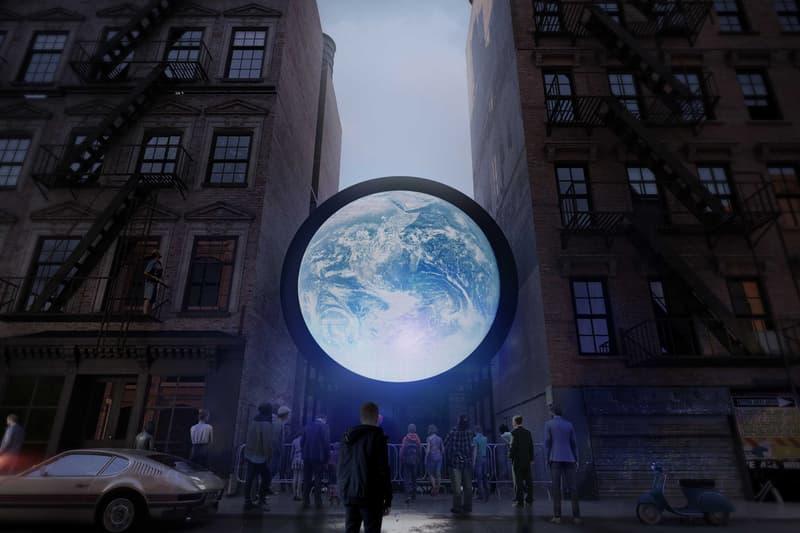 sebastian errazuriz blu marble public artwork nasa satellite