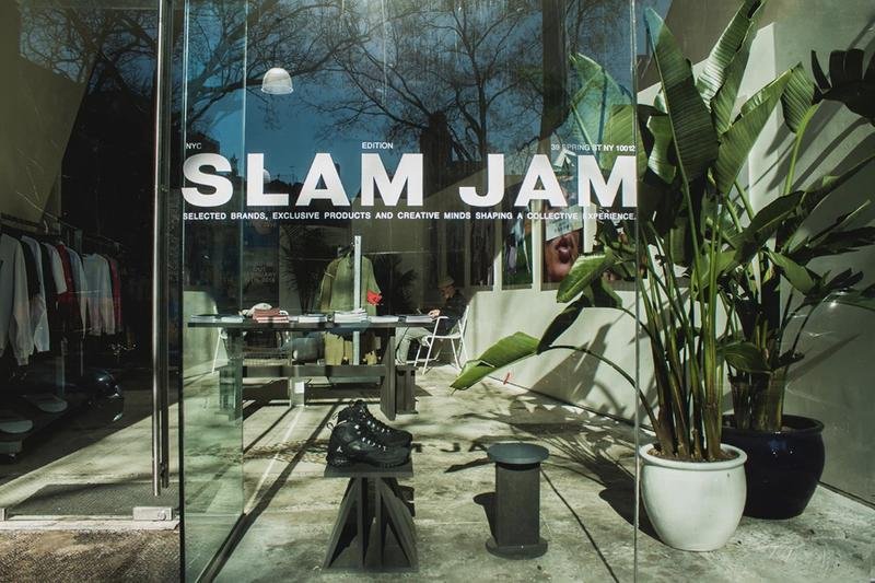 Slam Jam Gallery Common Tokyo Pop Up Details Info Information Fashion Clothing
