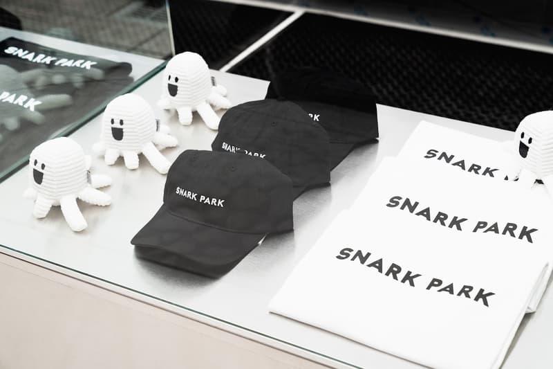 snark park snarkitecture daniel arsham ben porto alex mustonen artworks sculptures kith treats fashion apparel merchandise snarky