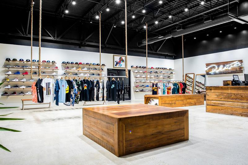 c6e86e90deaa4 sneaker politics 2019 summer boutique footwear store inside storefront  retail dallas texas sneakers shoes footwear