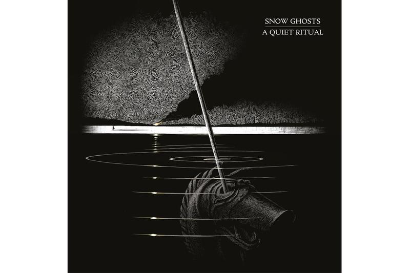 """Snow Ghosts Announce New Album & Drop Single """"Rip"""" houndstooth records uk electronic nu rock post rock industrial carnyx"""