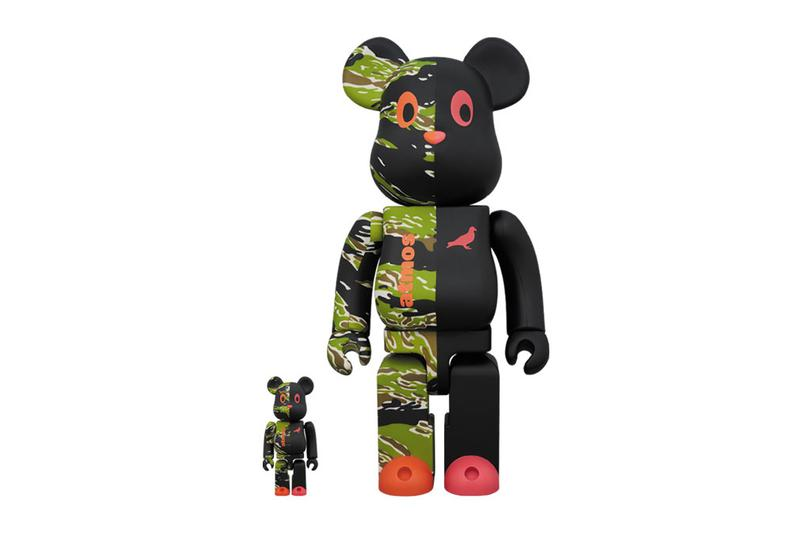atmos Staple Medicom Toy Black Pigeon BE@RBRICK bearbrick collaboration drop release date 100 400 1000 march 16 2019 drop buy