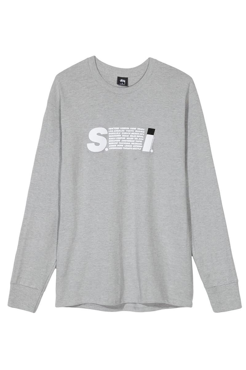 Stüssy SS19 S.I. Issey Miyake sport Parody T-Shirt spring summer 2019