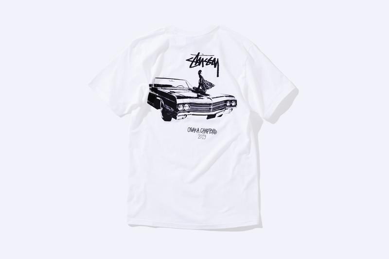 Stüssy Relaunches Osaka Store, Exclusive Capsule collection special minami shop location hat tee shirt graphic special renewal reopening