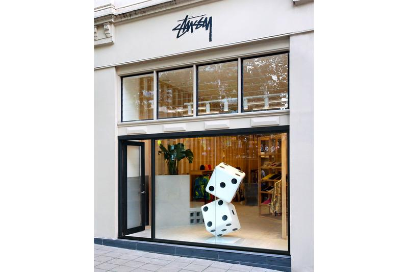 Stüssy Sydney Chapter Store Inside Look Australian Supply Collaboration jackets T-shirts hoodies