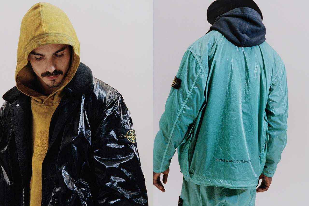 Supreme Stone Island Spring/Summer 2019 Light Silk Jacket Casual Football Terrace Culture Streetwear Massimo Kenneth McKenzie 6876 Wavey Garms Arco Maher