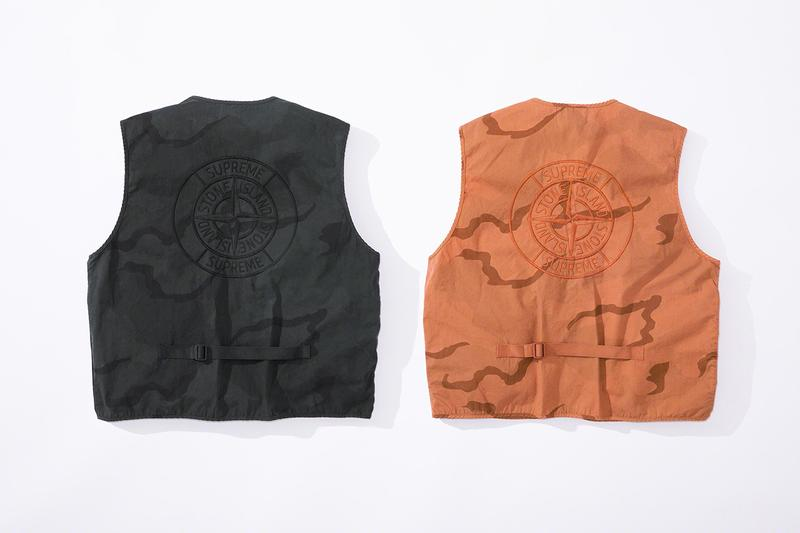 Supreme x Stone Island 2019 Spring Collection