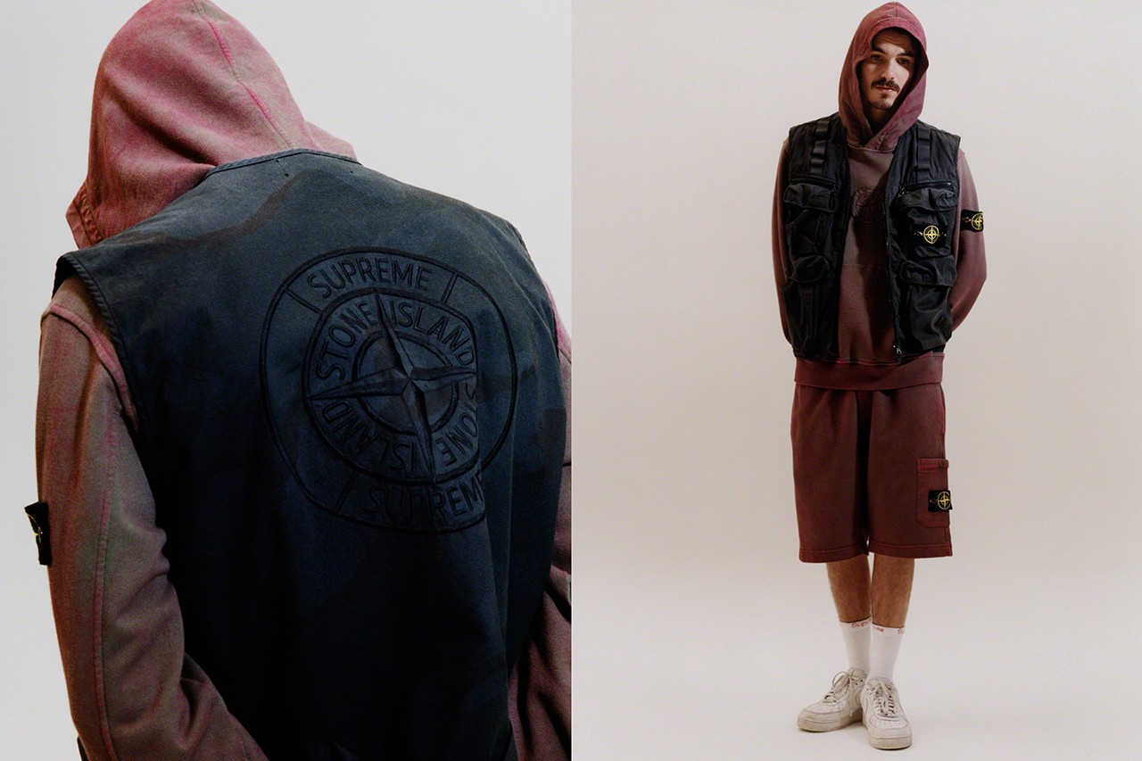 04cfe0b1 Supreme Stone Island Spring/Summer 2019 Light Silk Jacket Casual Football  Terrace Culture Streetwear Massimo