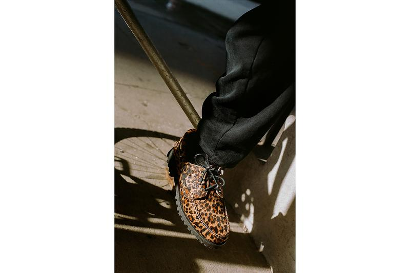 Supreme x Timberland 3-Eye Classic Lug Shoe leopard print new york footwear shoes clarks boat shoes pony hair