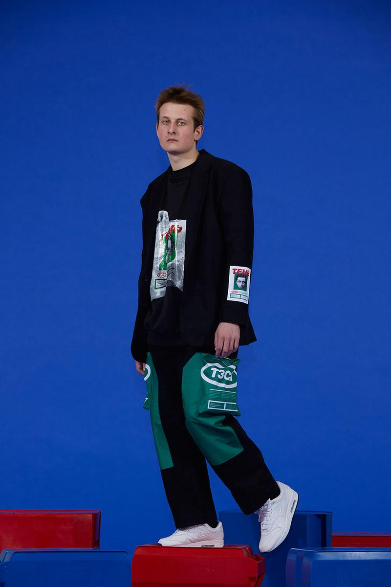 T3CM Fall Winter 2019 2020 FW19 Lookbook Collection Overproduction Globalization Ecology Editorial Streetwear Tailoring