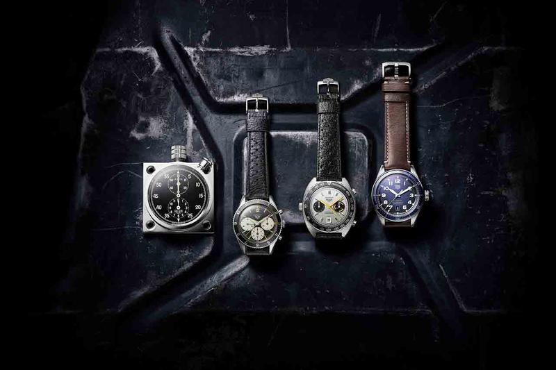 TAG Heuer 2019 Men's Autavia Watch Collection lineup baselworld isograph