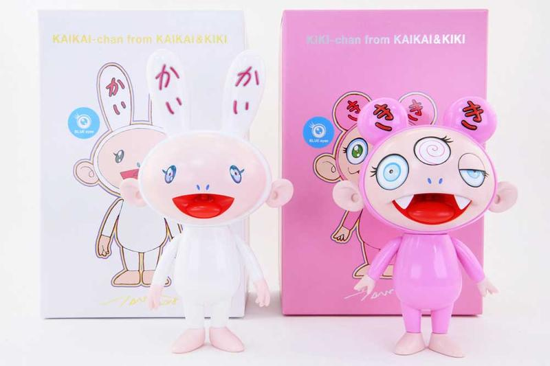 takashi murakami kaikai kiki instinctoy collecible vinyl figures toys artworks collectibles