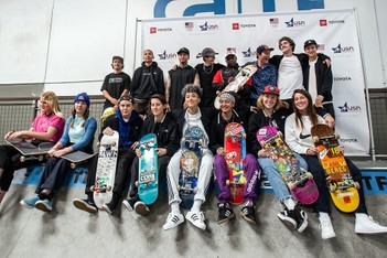 Picture of U.S. Olympics Skateboarding Team Names Nyjah Huston, Louie Lopez and More