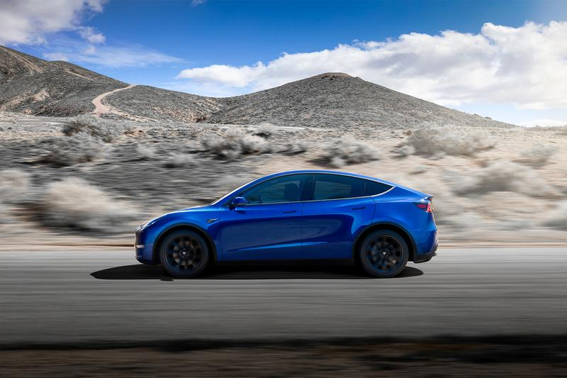 Tesla Elon Musk Model Y Unveiling