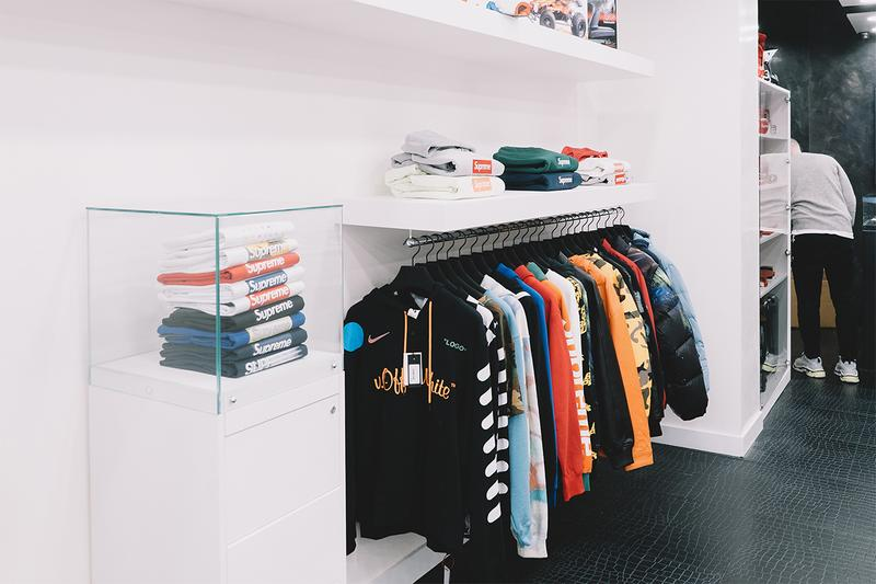 The Collection Supreme Louis Vuitton Consignment Store Info Resell High-end Fashion Clothing The North Face Rare Exclusive Items London Soho Brewer Street Virgil Abloh Collab Collaborations