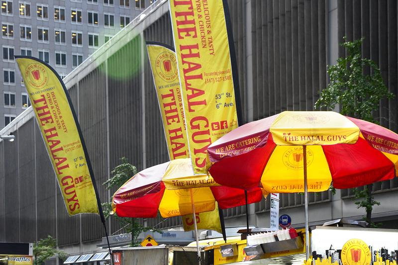 The Halal Guys Leciester Square London Opening New York Staple Fast Feed Chicken Beef Falafel Gyros Platters Baba Ganoush Baklava