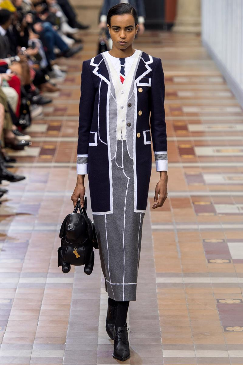 Thom Browne Ready To Wear Collection Fall 2019 Info fashion lookbooks