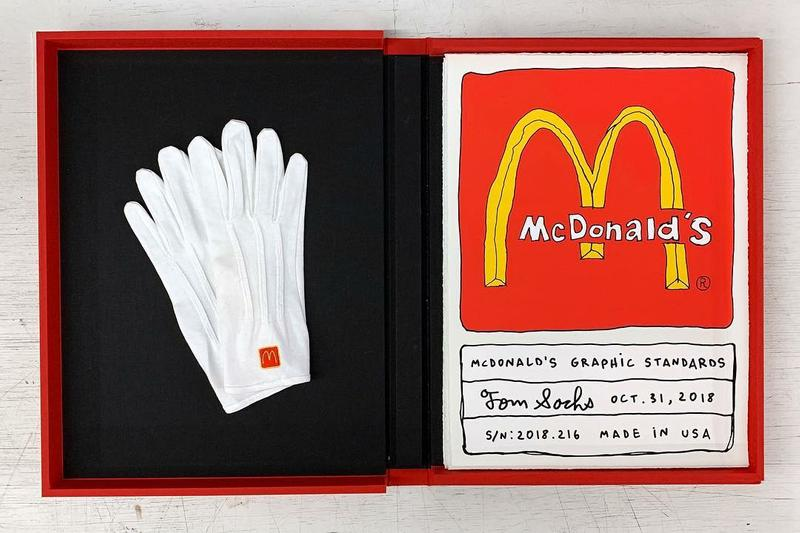 tom sachs mcdonalds graphic standards edition release hamilton press gallery