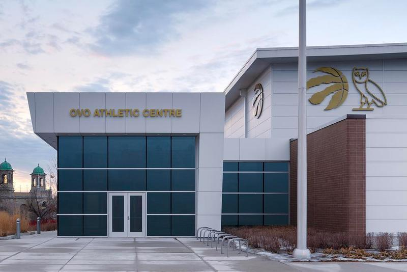 Toronto Raptors OVO Athletic Centre Practice Facility Renaming Drake Sound NBA Basketball  BioSteel Centre