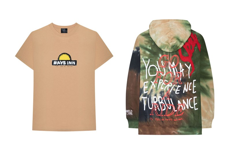 c9522b15d57 Commemorating Travis Scott's third sold-out Madison Square Garden date as  part of his ongoing Astroworld tour, the rapper has launched a series of ...