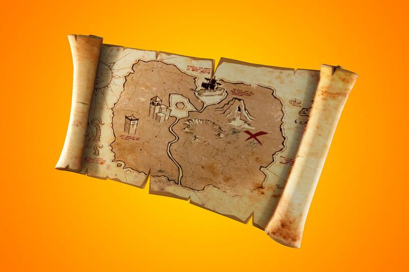treasure maps hunting hunt epic games fortnite season 8 apex legends marker ping mechanic - fortnite season 8 map images