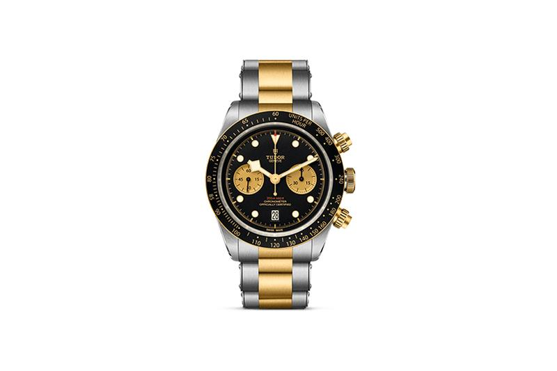 Tudor's Two-Tone Black Bay Chrono S G Release Info chronograph timepiece baselworld 2019 basel watches