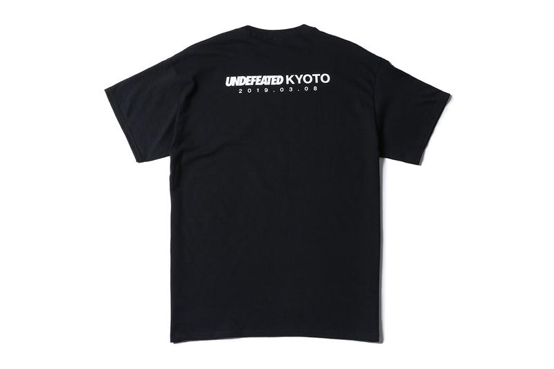 UNDEFEATED Kyoto Store Opening Exclusive Capsule japan launch drop release date info tshirt graphic buy march 8 2019