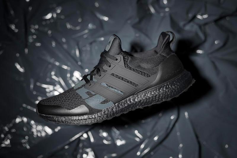 4ede60ada945 UNDEFEATED adidas UltraBOOST Triple Black First Look Runner