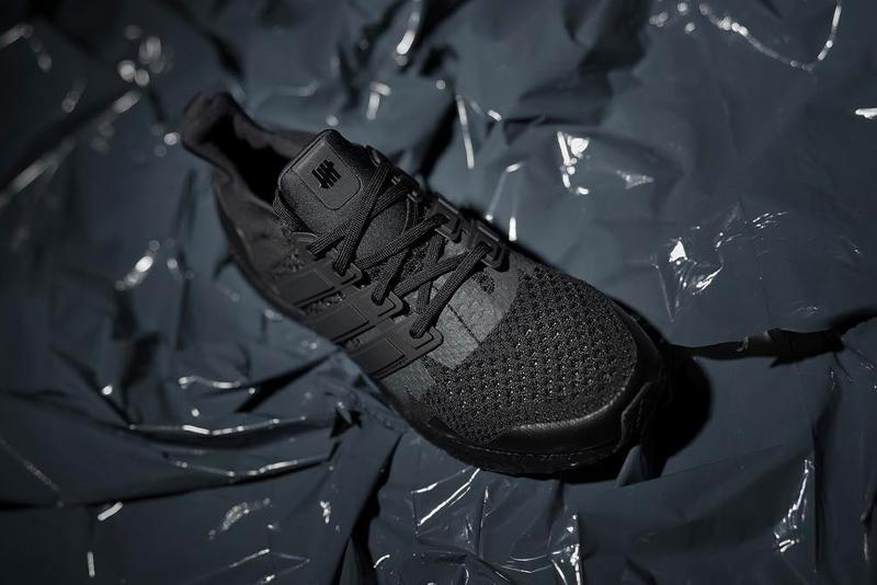UNDEFEATED adidas UltraBOOST Triple Black First Look Runner