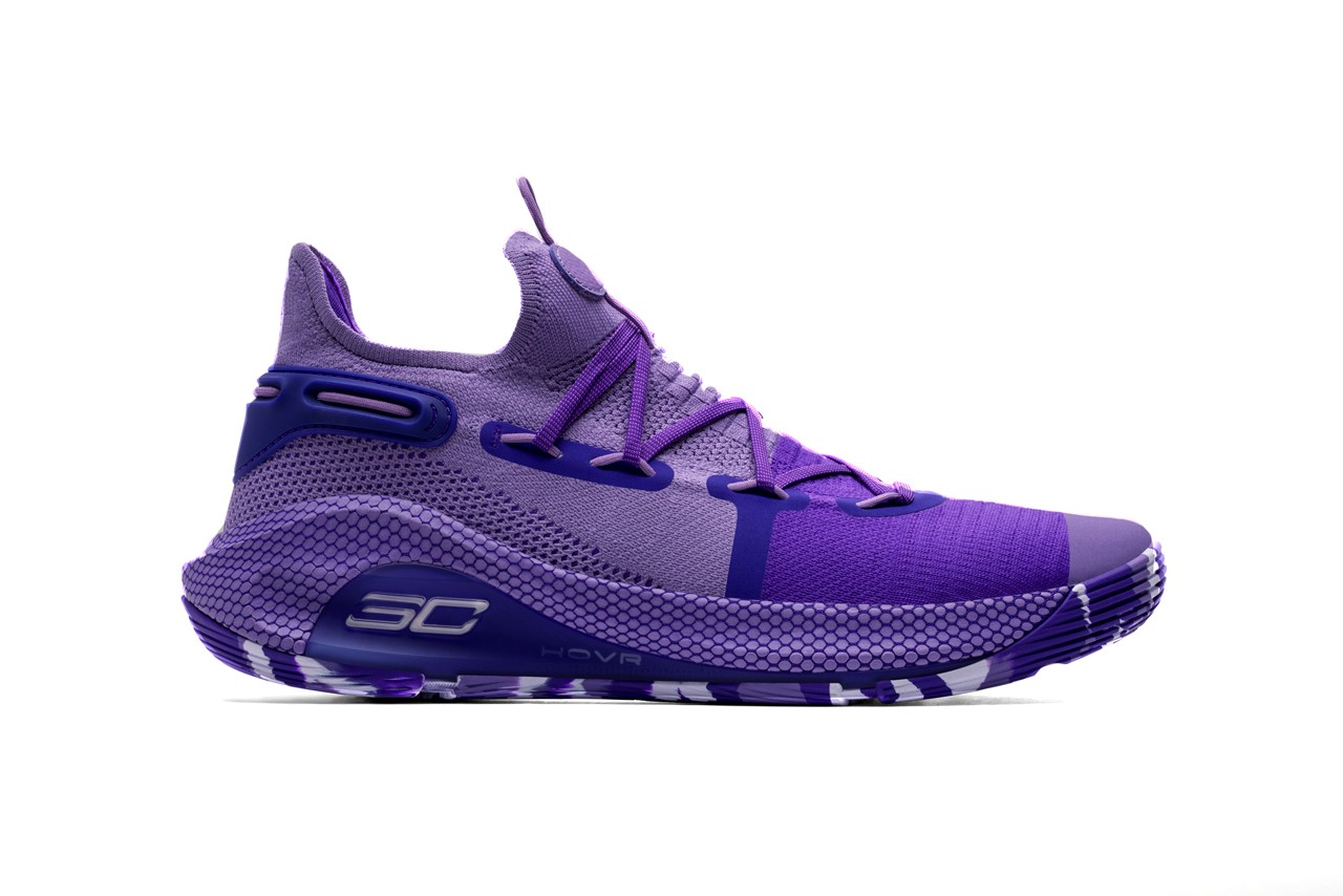 4aa9108ae8c1 Under Armour icon steph curry 6 international womens day purple orchid  riley morrison 9 year old. ""