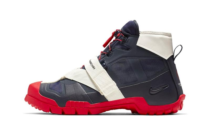 d48288770581 UNDERCOVER Nike SFB Mountain Dark Obsidian University Red White Release Jun  Takahashi The New Warriors Spring