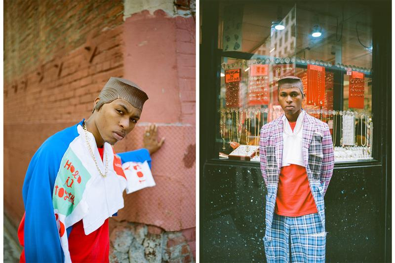 UNION x COMME des GARÇONS HOMME Plus Editorial collection russell westbrook LA los angeles fake hair wig Jordan Johnson Rique Strong Niko Delgado @jrdntyler @sufficiently_madd @neekkz
