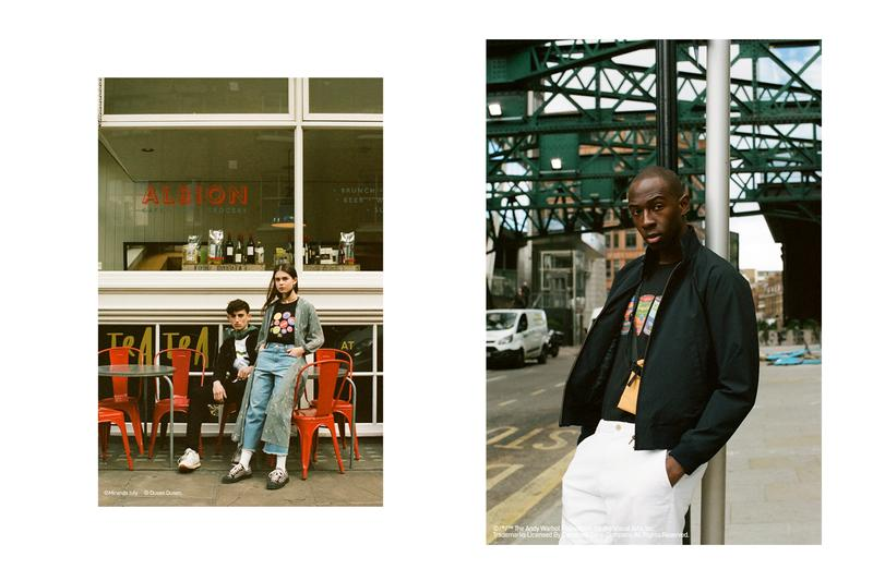 Uniqlo UT Collection SS19 London Lookbook miranda july the brands shirts t-shirts Keith Haring Jean Michel Basquiat Andy Warhol George Sowden Dusen Duse sprz ny wear your world