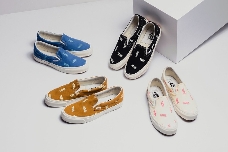 "7d17ae5ae4 Vans Vault Applies ""Multi-Logo"" Branding to the Classic Slip-On"