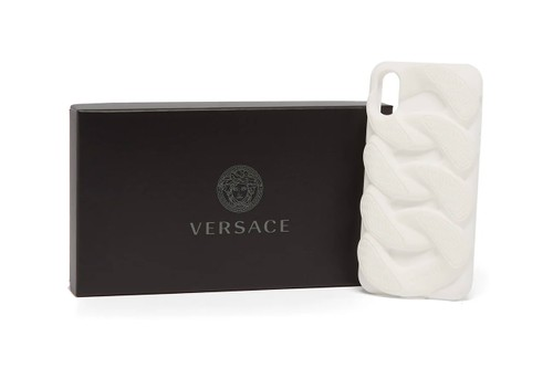 "Versace Gives Its Chain Reaction Sole Unit iPhone Case a ""White"" Makeover"
