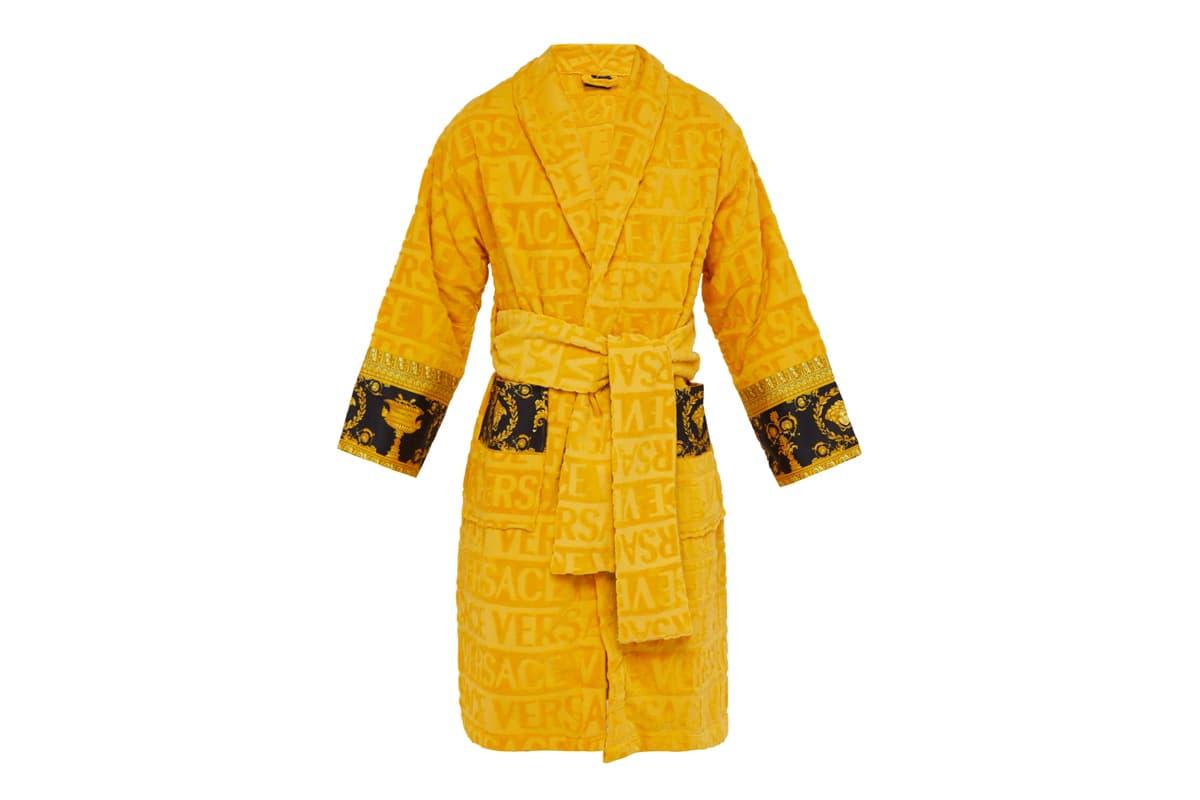 Celebrate Luxury With Versace's I Love Baroque Bathrobes