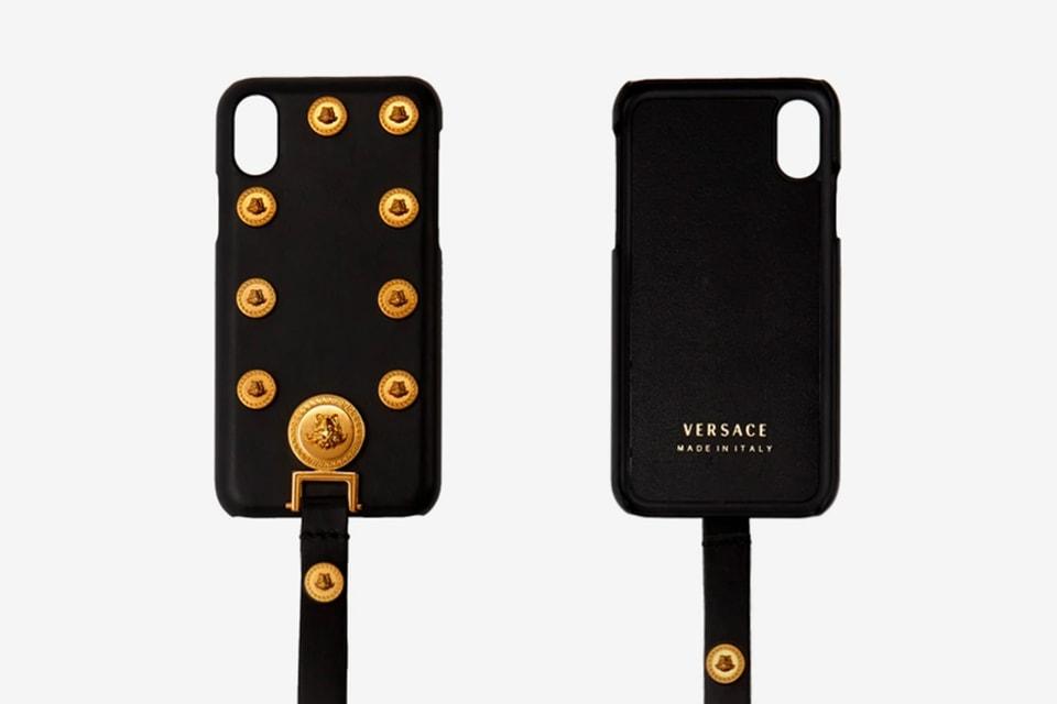 new product b38a3 de77b Versace Medusa Tribute iPhone X Case Release | HYPEBEAST