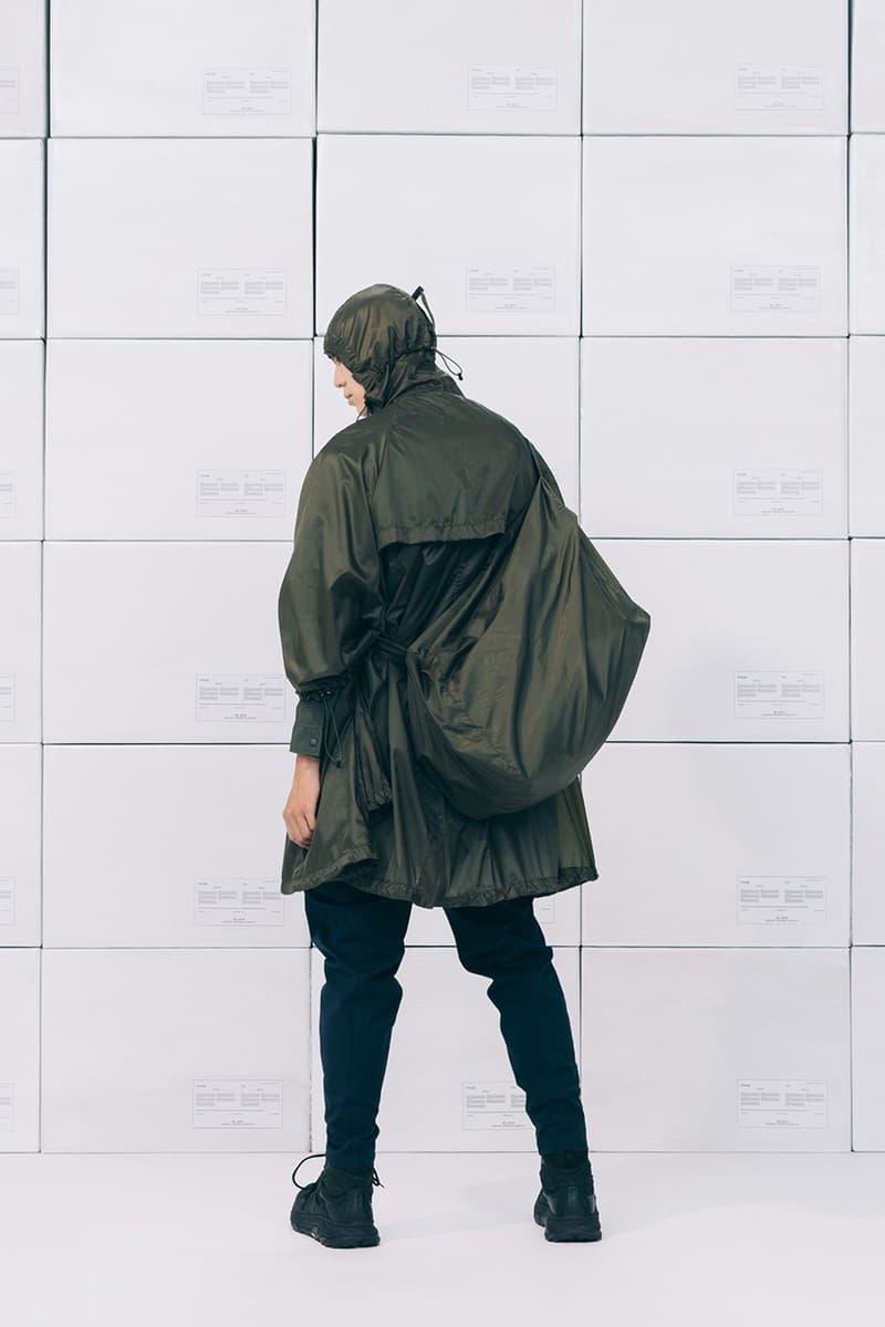 Wisdom Spring/Summer 2019 Collection Lookbook ss19 taiwan techwear release date info buy