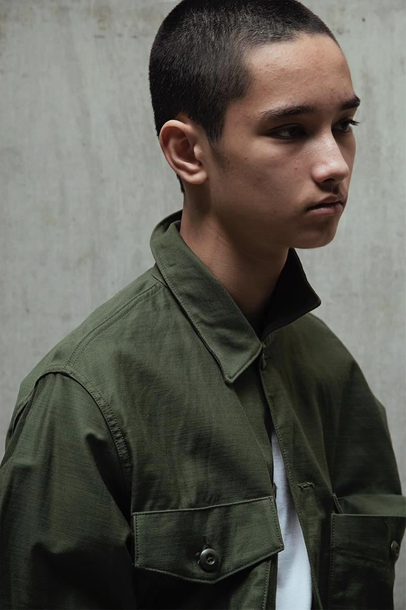 WTAPS Mill Uniforms New Collection Spring Summer 2019 SS19 Lookbook Capsule Workwear Japanese Design Boxy Basics Shirt Jacket T Shirt First Look Cheaper Affordable Discount Diffusion Line