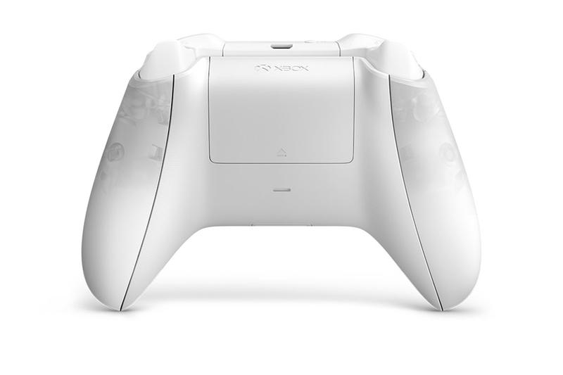 Microsoft Xbox Phantom White Special Edition Controller twitter limited gaming console microsoft Release gaming videos games