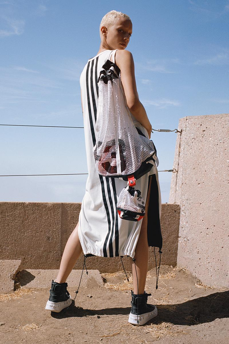 Y-3 AOP Spring/Summer 2019 Collection Lookbook Campaign sailing malibu yacht graphic ss19