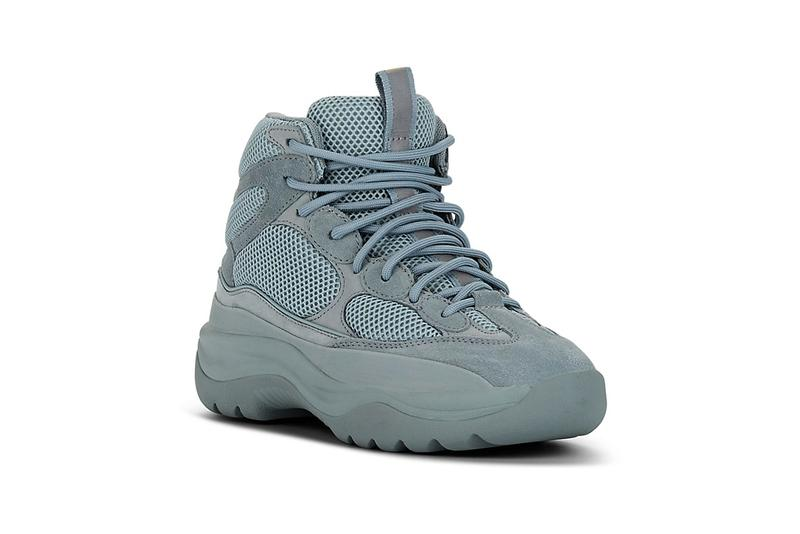 e5a17cbe5 yeezy mixed material boots house blue wakame green colorways release  barneys. 2 of 6