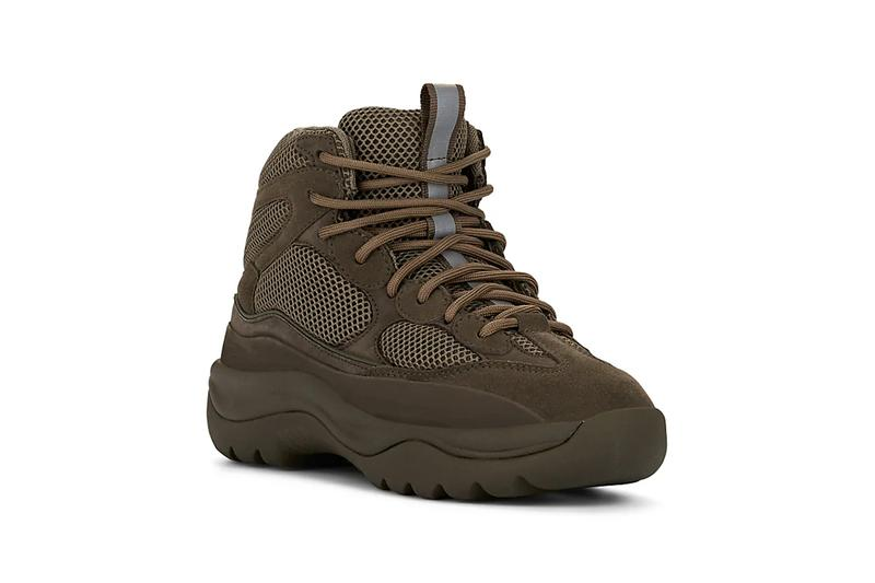 1a5e9296a240b yeezy mixed material boots house blue wakame green colorways release barneys