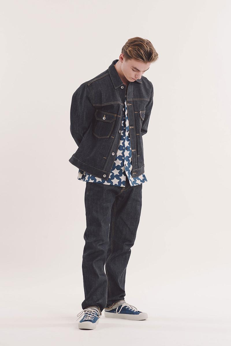 YMC SS19 Spring Summer 2019 Hawksmill Denim Co collaboration vintage denim selvedge japanese trousers work jacket boxy contemporary