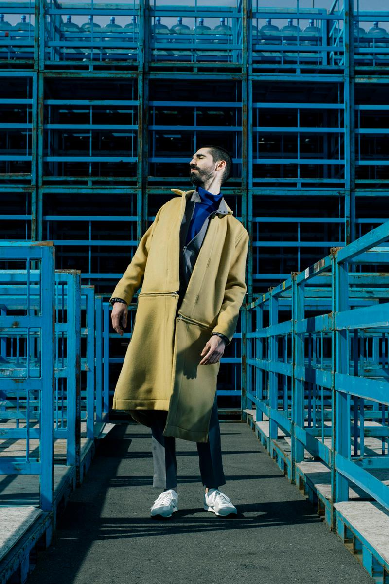 Y.O.N. Fall/Winter 2019 Collection Lookbook fw19 japan Haruka Nishioka anorak designs