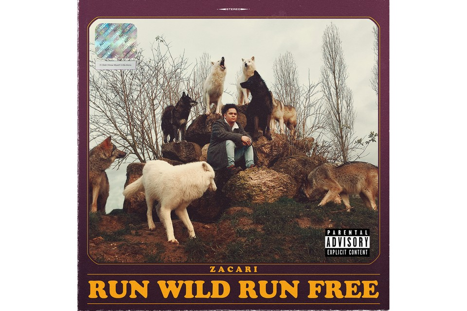 6983038db2e6 Zacari Unveils TDE Debut Project  Run Wild Run Free