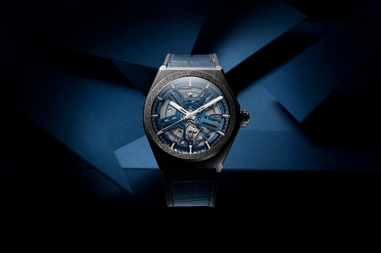 Zenith Watchmakers Launch Defy Inventor Watch Swiss mono-crystalline silicon Aeronith